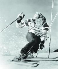 """Spider Sabich, above, """"was such an important part of American ski history,"""" says Billy Kidd, like Sabich an Olympian in the 1968 Grenoble Games."""