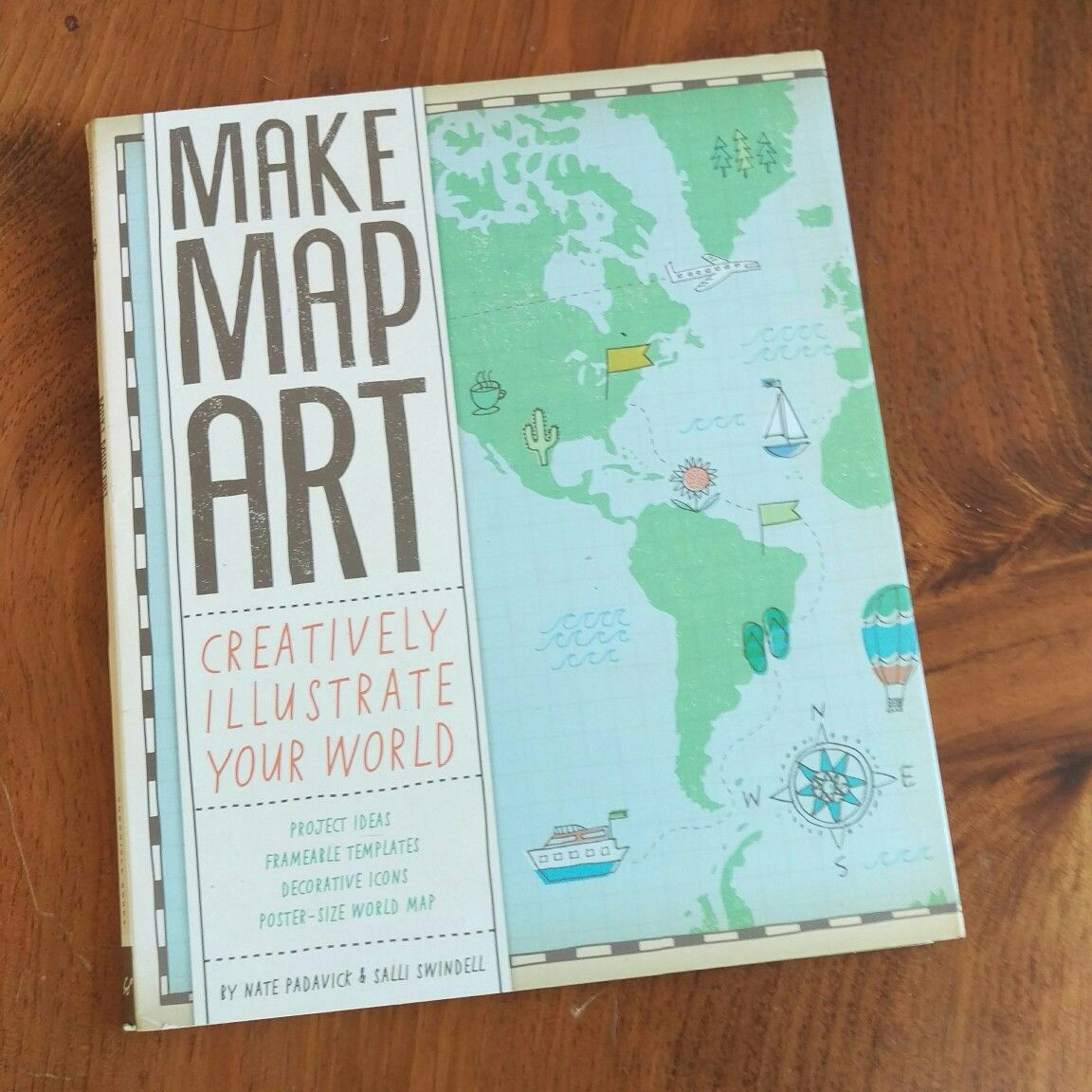 Make map art creatively illustrate your world project ideas make map art creatively illustrate your world project ideas frameable templates decorative icons gumiabroncs Gallery