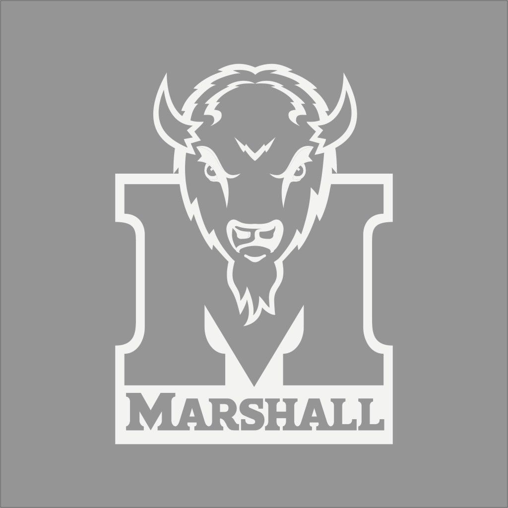 Details About Marshall Thundering Herd College Logo 1c Vinyl Decal Sticker Car Window Wall Vinyl Decals Car Stickers Decals