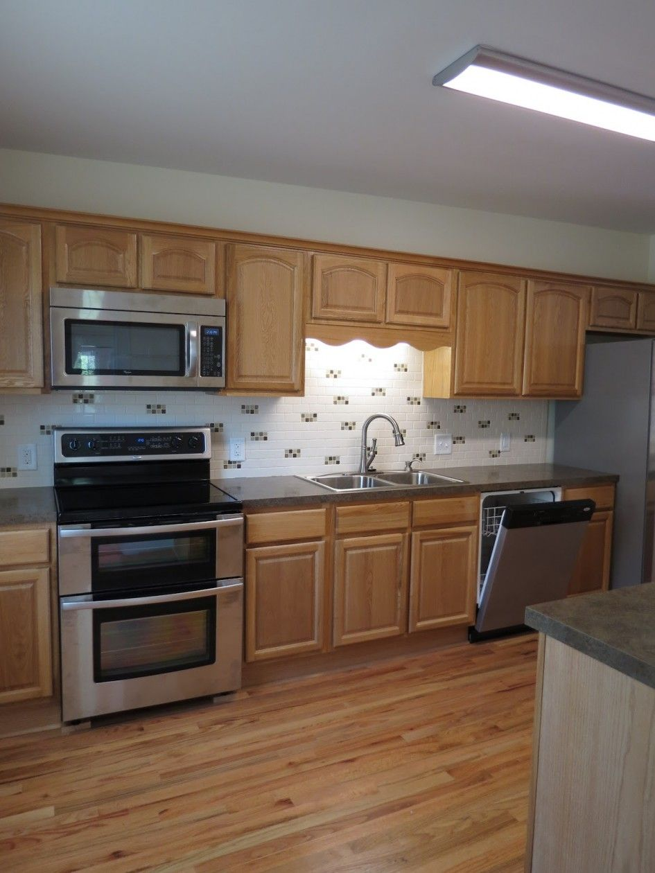 Furniture, Modern Chrome Built In Kitchen Stove And Oven ...