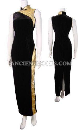 Dorado Cheongsam,Chinese Dresses,Chinese Clothing