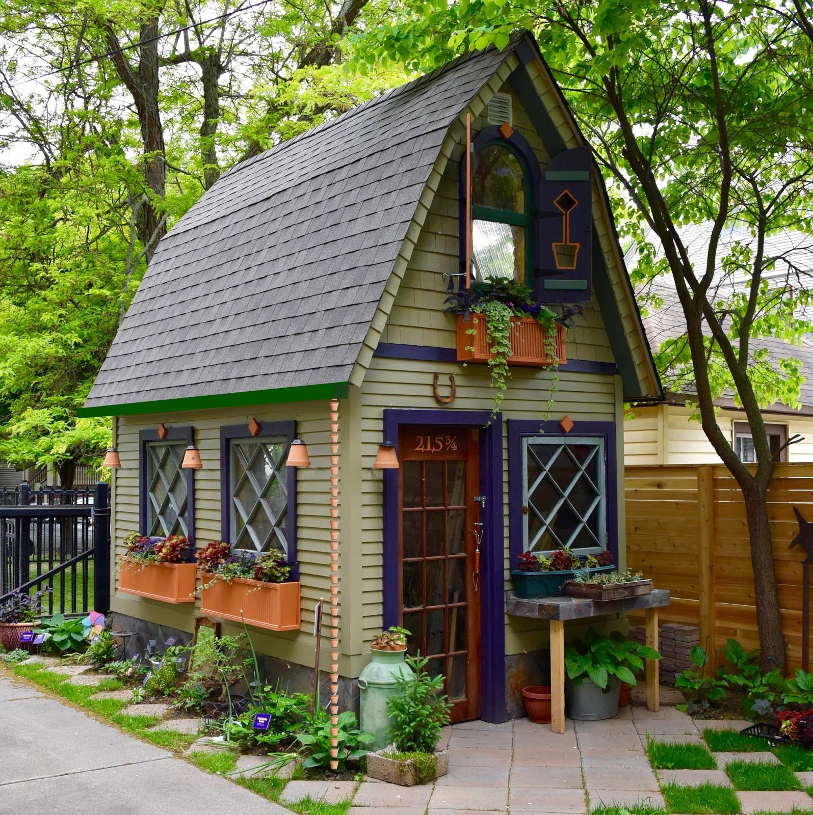 Garden Travel Ideas Inspiration And Great Buffalo Ny Gardens By The Well Traveled President Of Garden Walk Garden Tool Shed Shed Design Cabins And Cottages