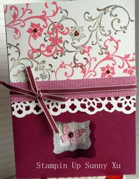 Splitcoaststampers FOOGallery - Romance Card