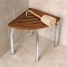 Great Corner Shower Seat