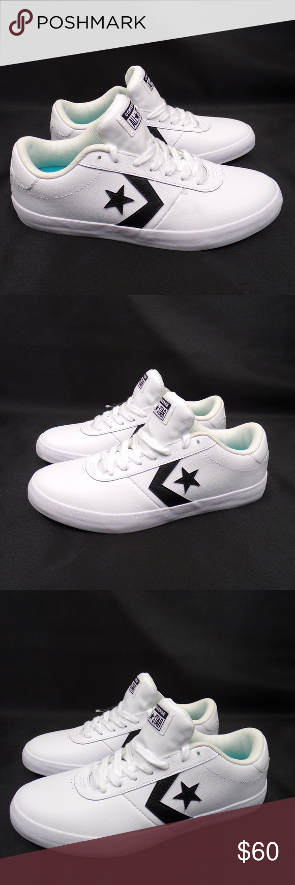 converse point star leather
