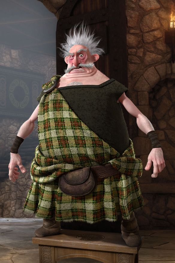 Robbie Coltrane as Lord Dingwall. Brave | Brave 2012. Disney brave. Brave