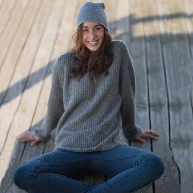 kaschmir pullover patent loose fit round neck grau women barefoot living by til schweiger. Black Bedroom Furniture Sets. Home Design Ideas