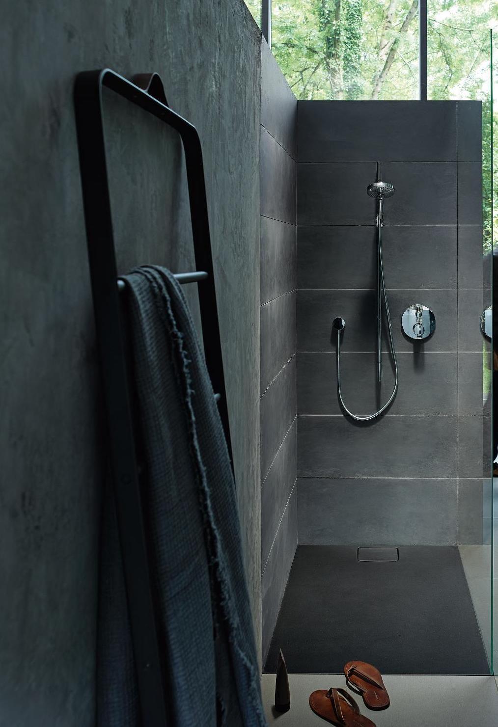 Duravit Stonetto Duschwanne Rechteck Durasolid Q 1400 X 1000 Mm Duschwanne Dusche Schwarze Badezimmer Armaturen