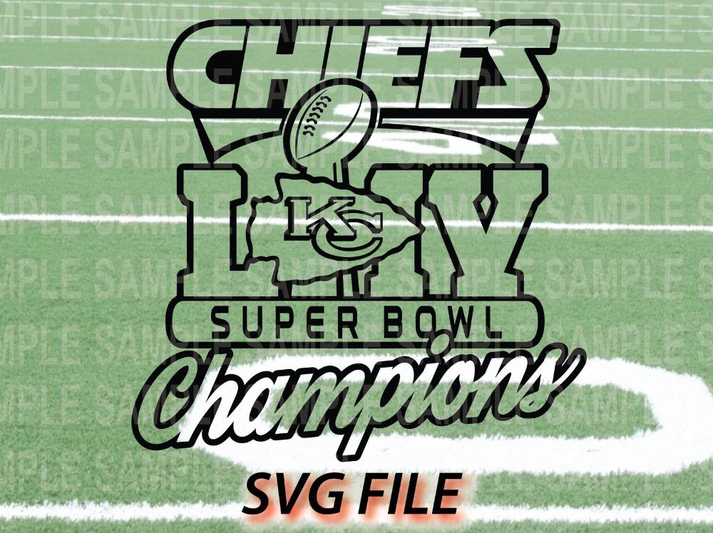 Kansas City Chiefs Super Bowl 54 Liv Champions Design Svg Etsy Chiefs Super Bowl Kansas City Chiefs Super Bowl Winners