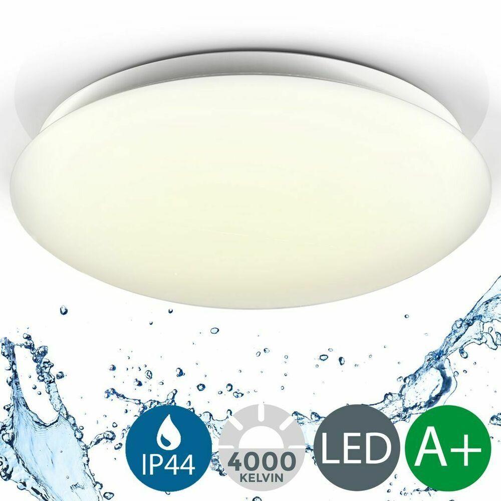 18W Deckenlampe LED Badlampe Badezimmerleuchte Deckenleuchte Küche Flur IP44 DHL