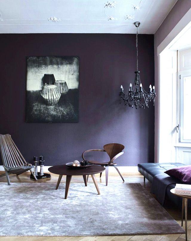 20+ Interiors Using Pantoneu0027s 2018 Ultra Violet   Color   Pinterest    Tendencia Moda, Pinturas Y Espacios