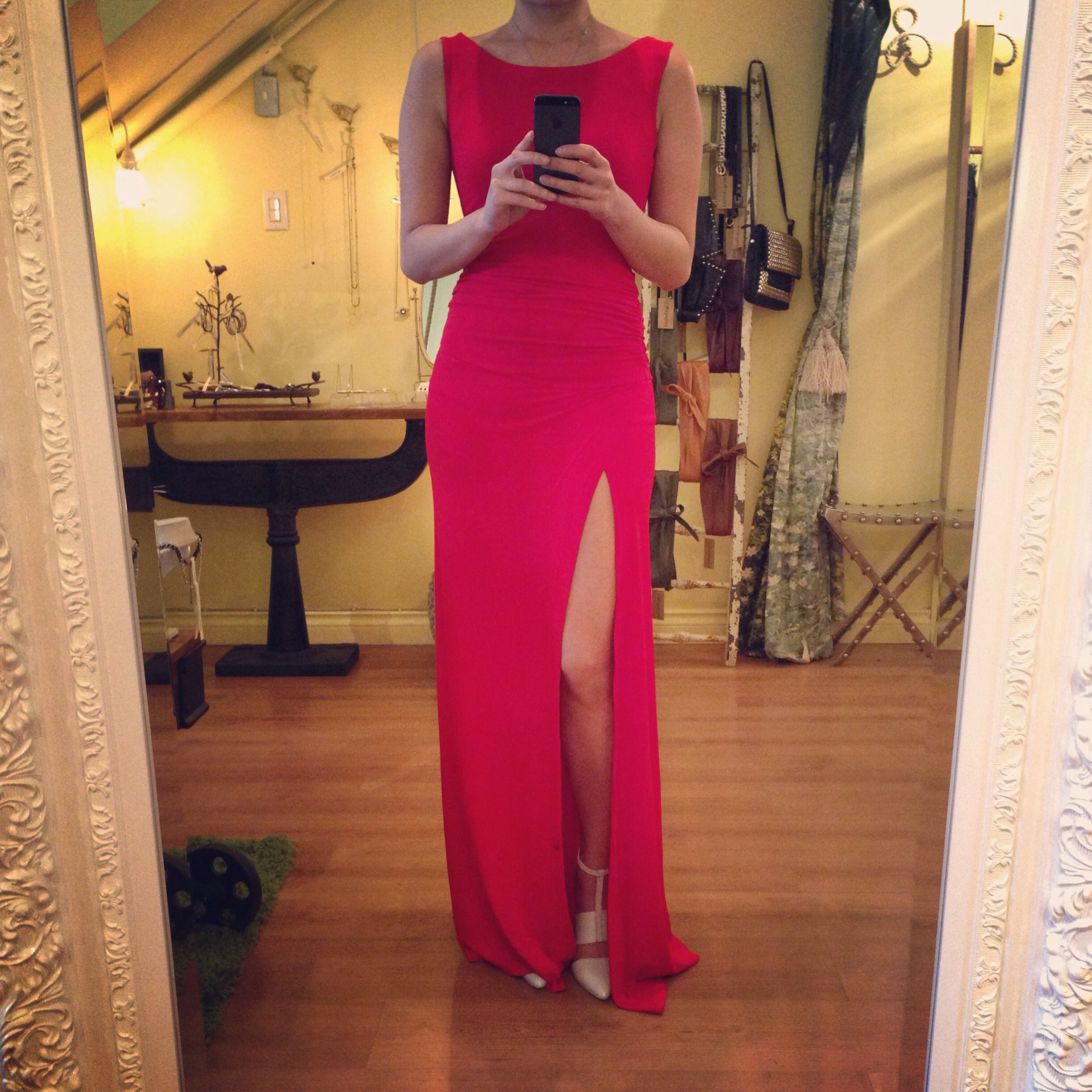 Every girl needs a red dress in her wardrobe !