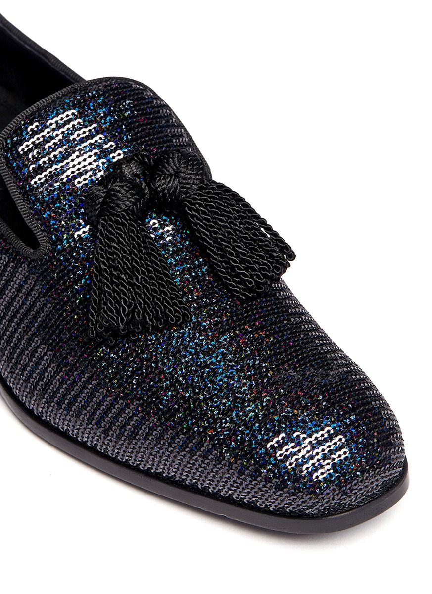 Free Shipping Choice Cheap Sale 2018 Unisex Foxley slippers - Blue Jimmy Choo London Cheap Sale Wholesale Price Sale Shop AlkLthsQeT