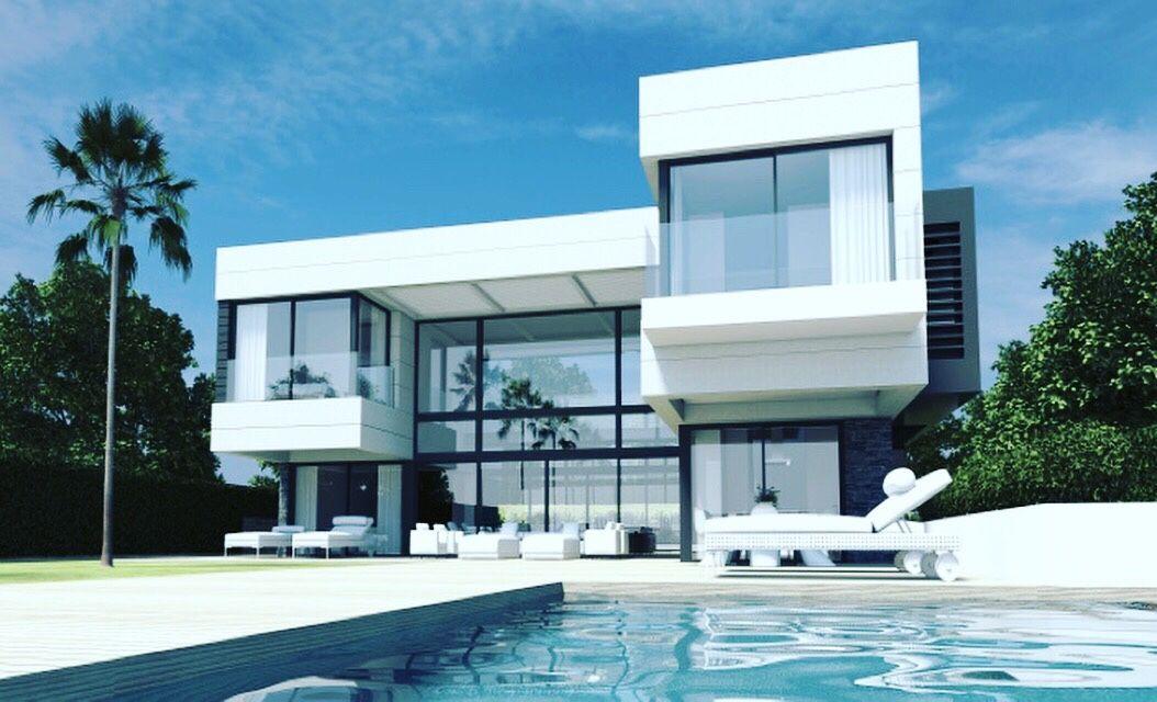 Modern Villas Marbella Modern House Plans House Design Modern Villa Design