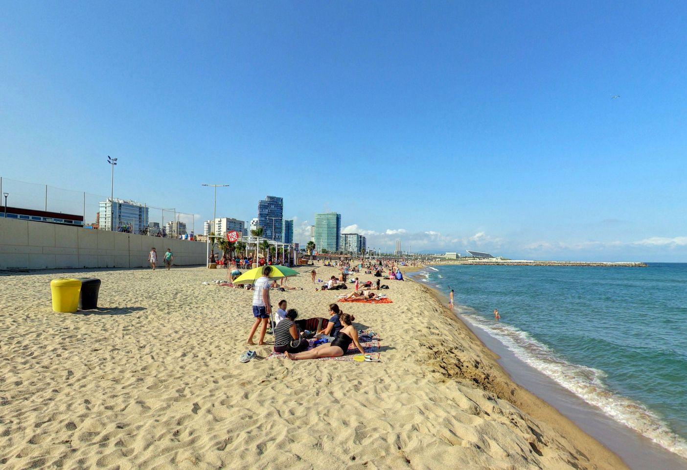 Beach Nova Mar Bella Marbella Beach Barcelona