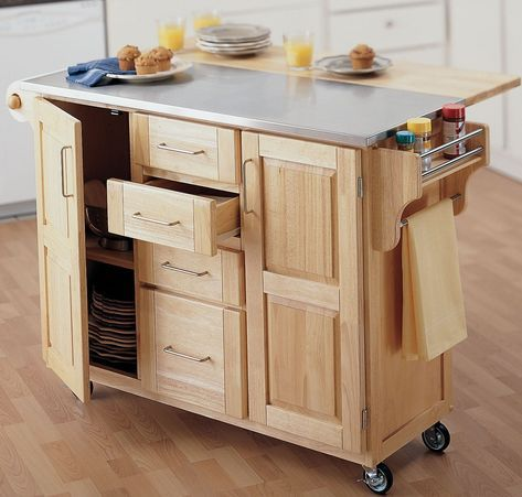 Movable kitchen island duration diy and extend your island plans ...