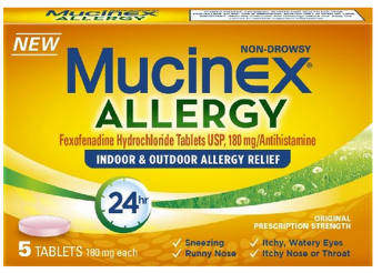 graphic relating to Mucinex Printable Coupon named Scorching* No cost Box of Mucinex 24-Hour Allergy (CVS, Walgreens