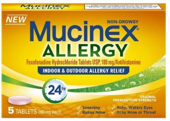 Hot Free Box Of Mucinex 24 Hour Allergy Cvs Walgreens Rite Aid 7 50 Value Mucinex Allergies Outdoor Allergy