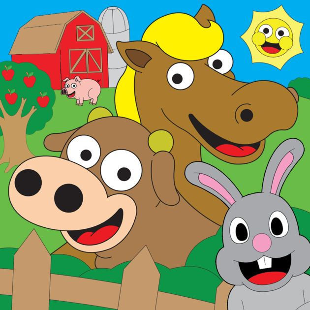Coloring Farm Animal Book For Kids Games On The App Store