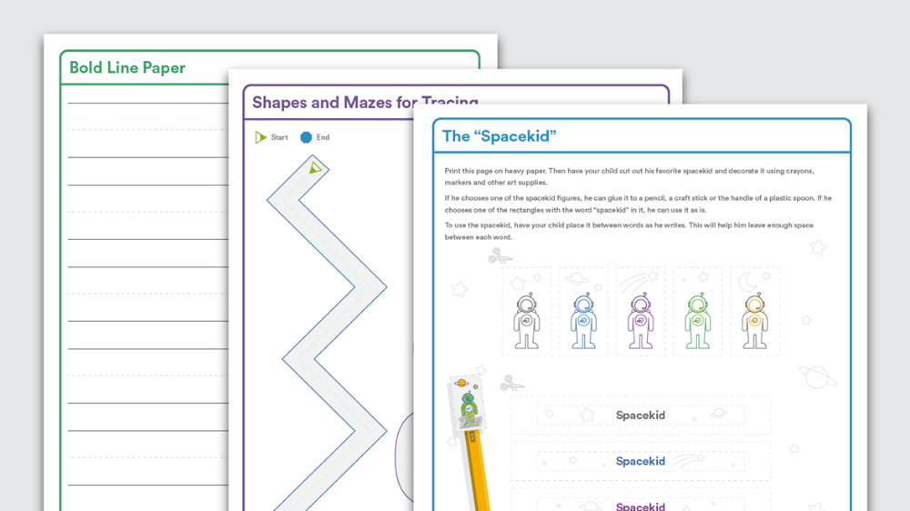 Download Tools to Help With Handwriting Handwriting