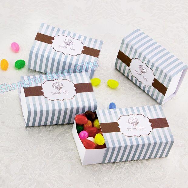 DIY Seashell Candy Box BETER-TH035 Wedding Ideas, Party Decor    #weddingfavorbox #candybox #weddinginspirations