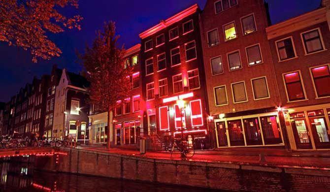 Amsterdam tour erotic