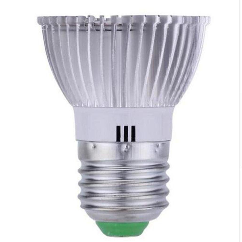 Fineser E27 8w Led Grow Light Bulb Grow Lamp For Indoor Plants Plant Light Bulb For Indoor Garden Greenhou In 2020 Grow Light Bulbs Led Grow Light Bulbs Plant Lighting