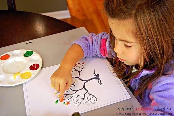 Нетрадиционные техники рисования для детей 2 - 3 лет. Фото ...