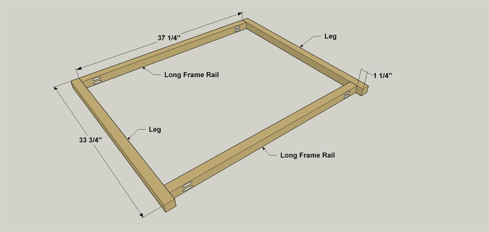 Assemble the Front and Back Frames