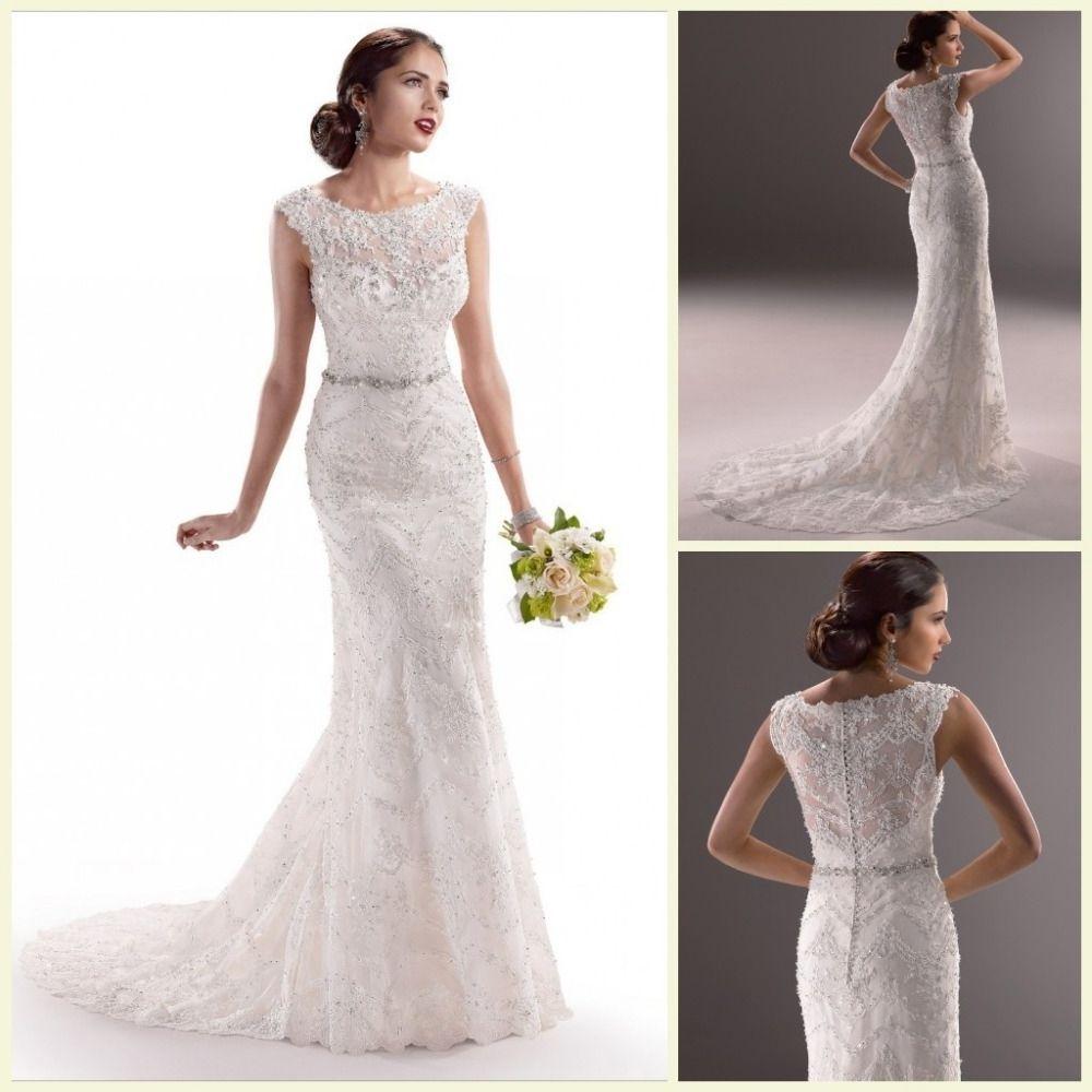 Simple Wedding Gown Patterns | Wedding Dress | Pinterest | Simple ...