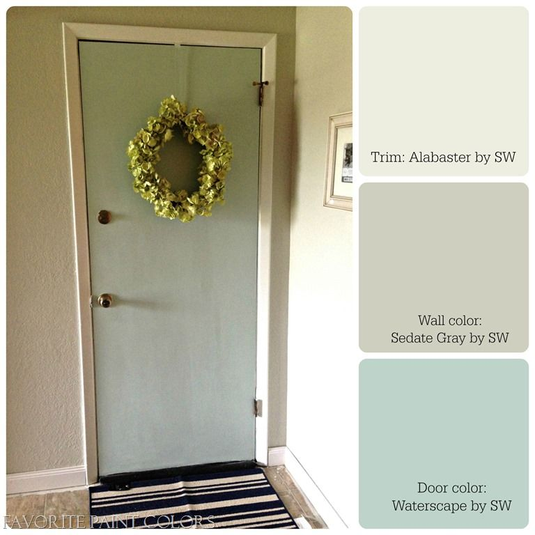 Awesome Trim: Alabaster By Sherwin Williams, My Favorite Trim Color, Almost  Identical To · Door Paint ...