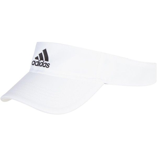 fdf57f01 Adidas Performance Climalite Visor ($14) ❤ liked on Polyvore featuring  accessories, hats, unisex, adidas and sun visor