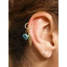 Resultado de imagen para piercing oreja mujer