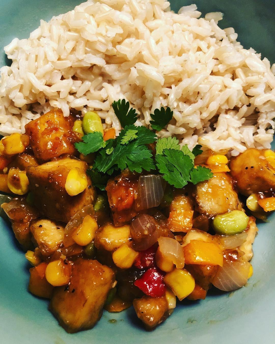 Simple Crispy Garlic Tofu Recipe Inspired From