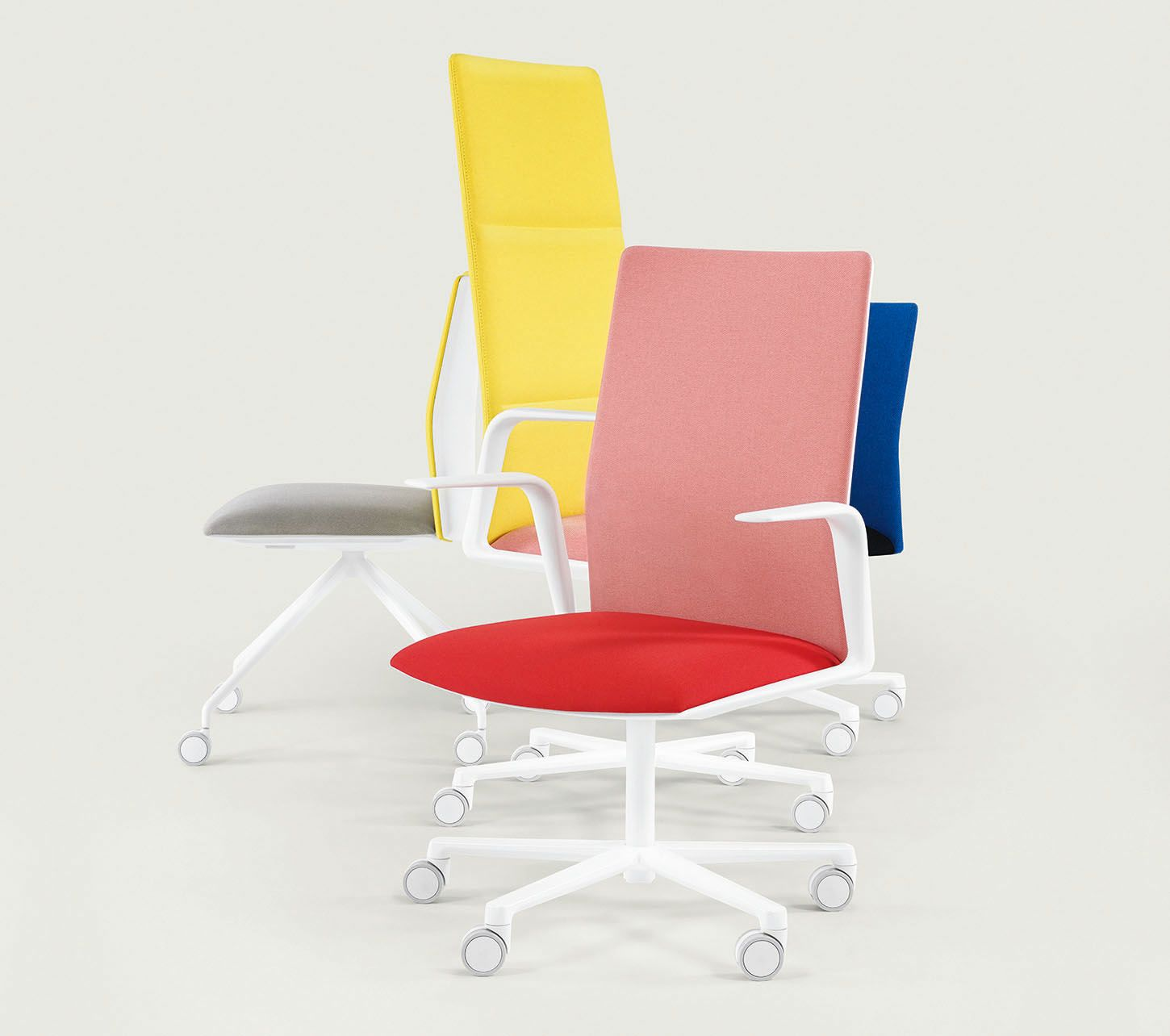 35 Unexpectedly Chic Pieces For An Un Boring Office Sight Unseen Leather Office Chair Chic Office Chair Furniture Graphic