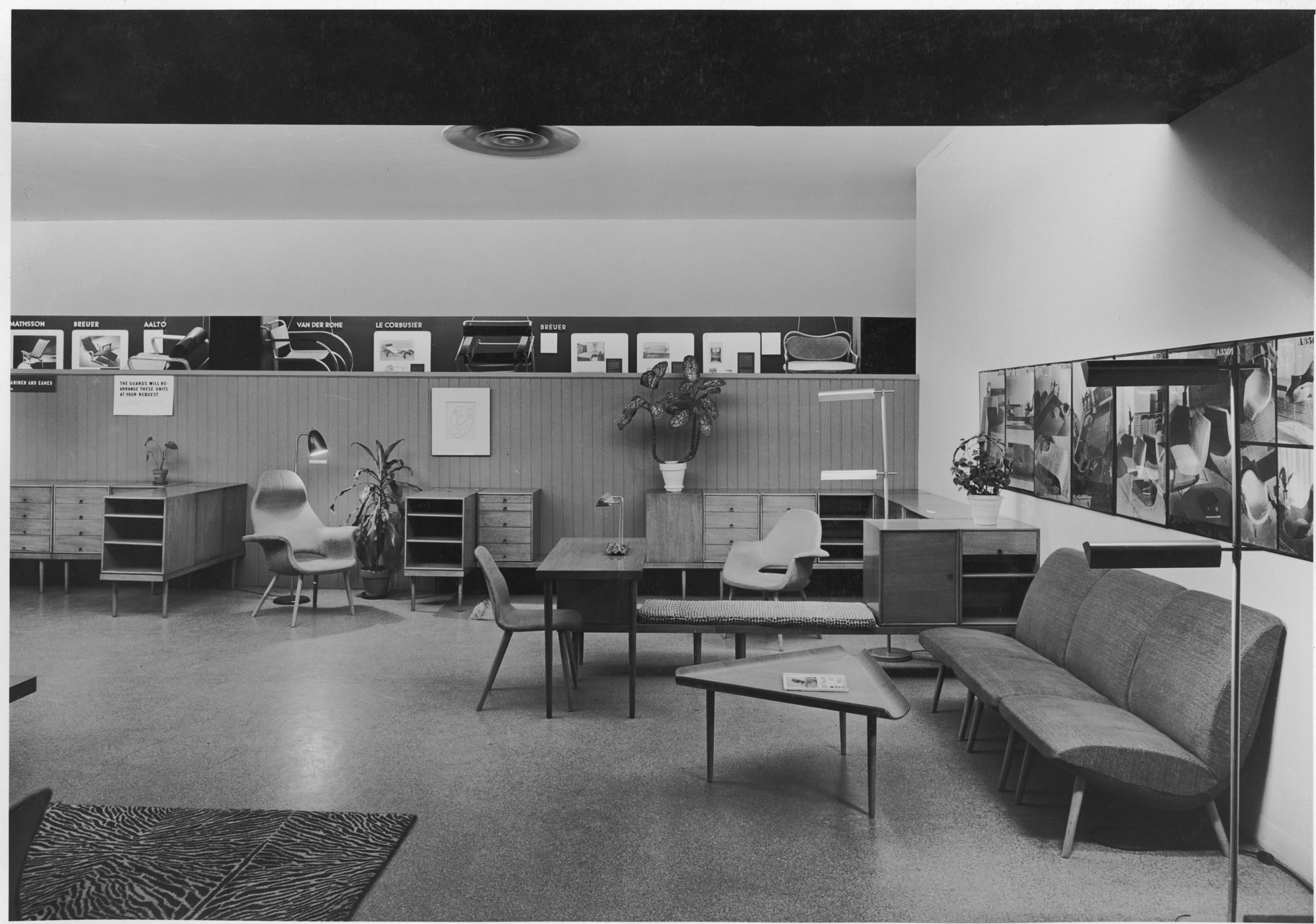 Organic Design In Home Furnishings Peion In 1940