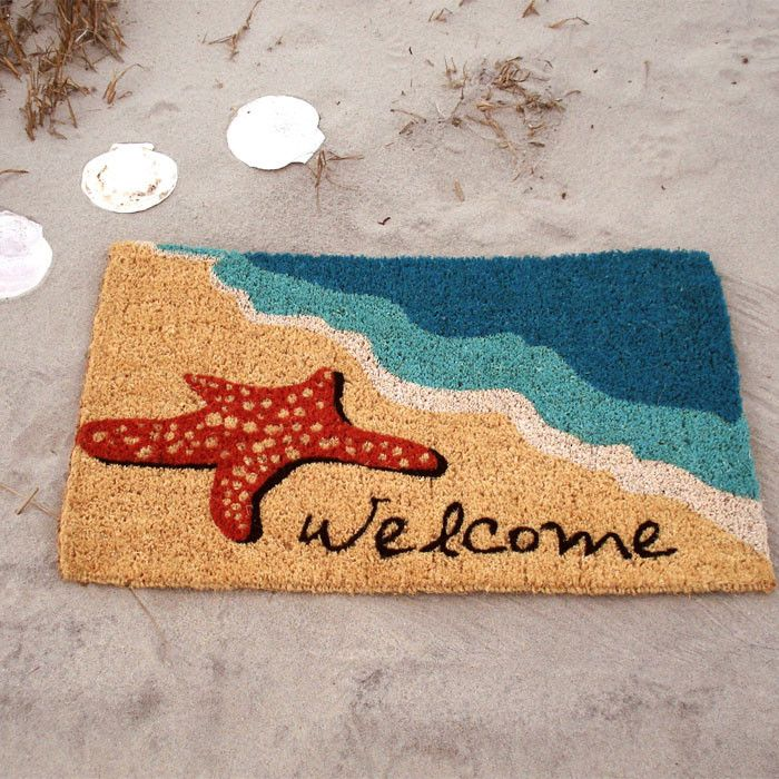 Also For A Vacation Home In Hawaii Starfish Doormat