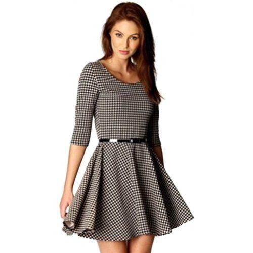 20314eaac27bf Encuentra Suku 31934 Hermoso Vestido Pata De Gallo Trendy Asia 629 en Mercado  Libre México. Descubre la mejor forma de comprar online.