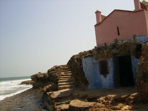 Holy grail ! The cave where St. Francis Xavier dwelt, Tamil Nadu Manapad India