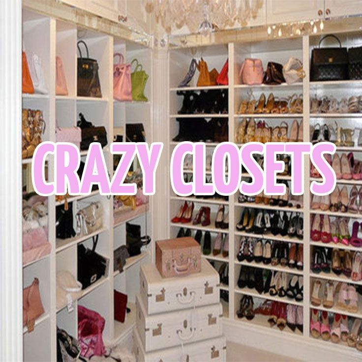 Delightful Crazy Closets