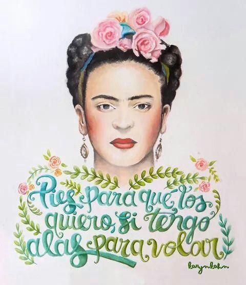 pies para que los quiero loving frida art frida kahlo portrait art