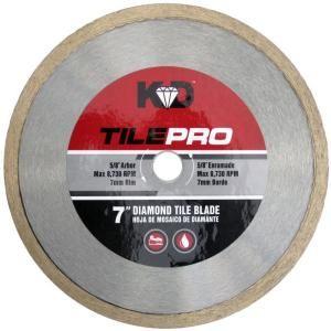 King Diamond 7 In Diamond Tile Circular Saw Blade C70s7 The Home Depot Circular Saw Blades Diamond Tile Saw Blade