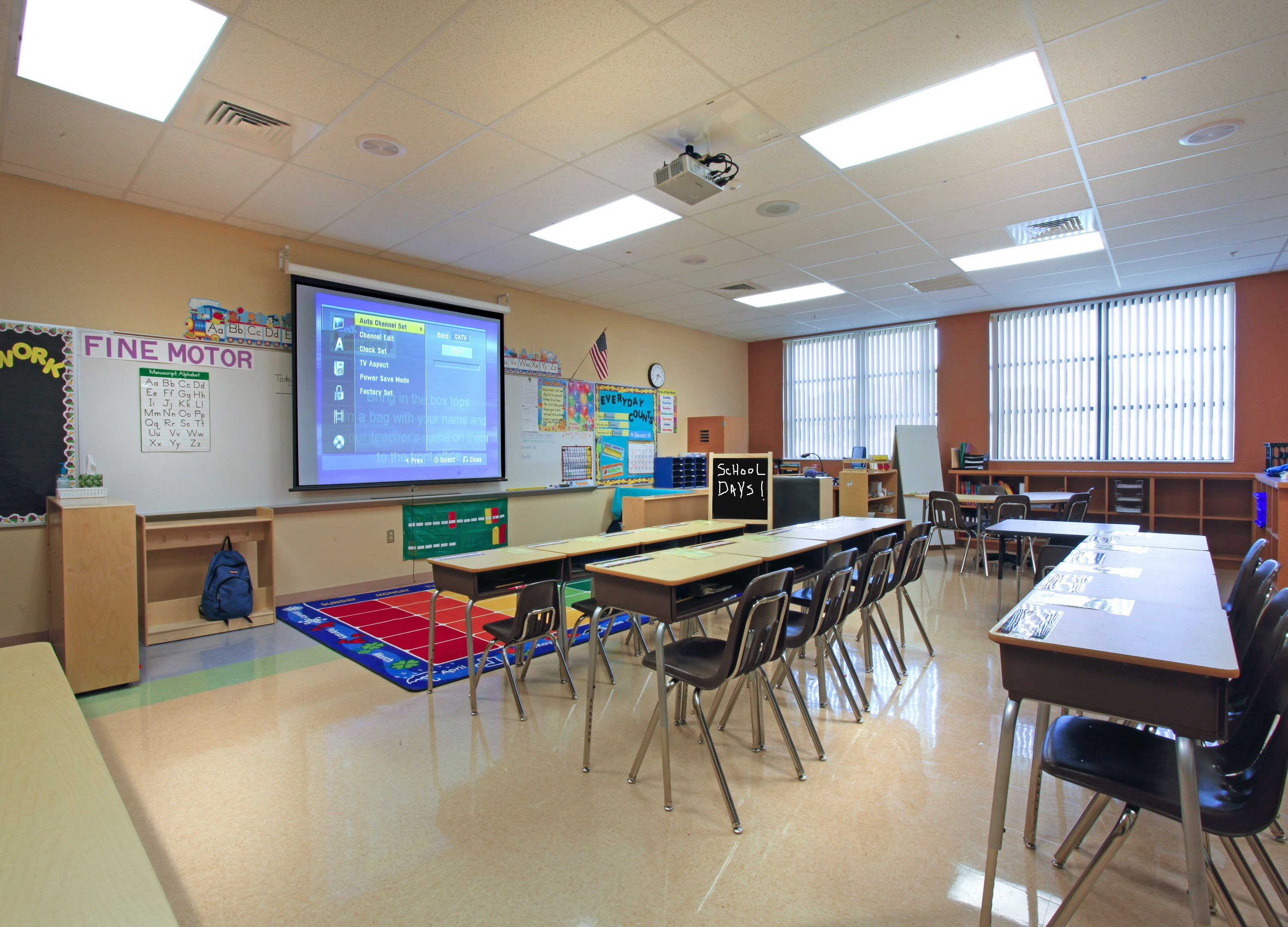 Classroom Design Ideas High School : Elementary classroom architecture design pgal