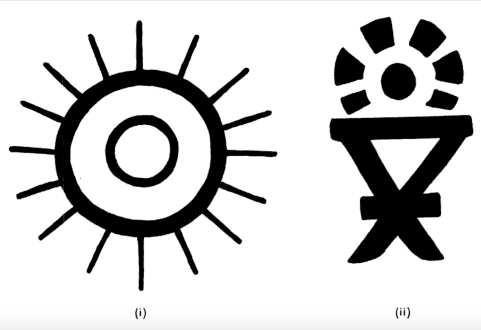 Early Sun Symbols On Coins I Punch Marked Coins Of Tribal