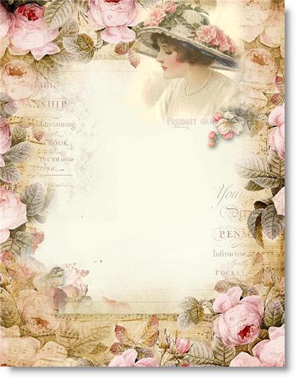 Love Letter Vintage Paper Vintage Stationery Vintage Printables