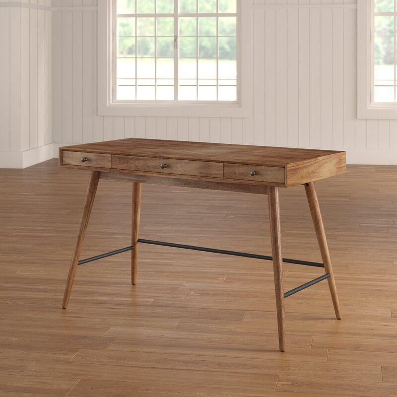 Andersen Desk In 2020 Wood Writing Desk Solid Wood Writing Desk Office Furniture Modern
