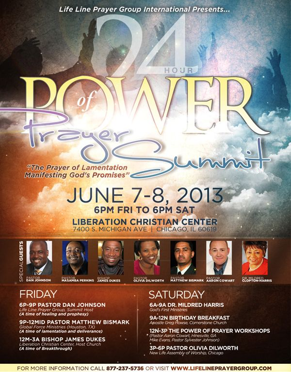 Line hour prayer 24 PRAYERLINE24