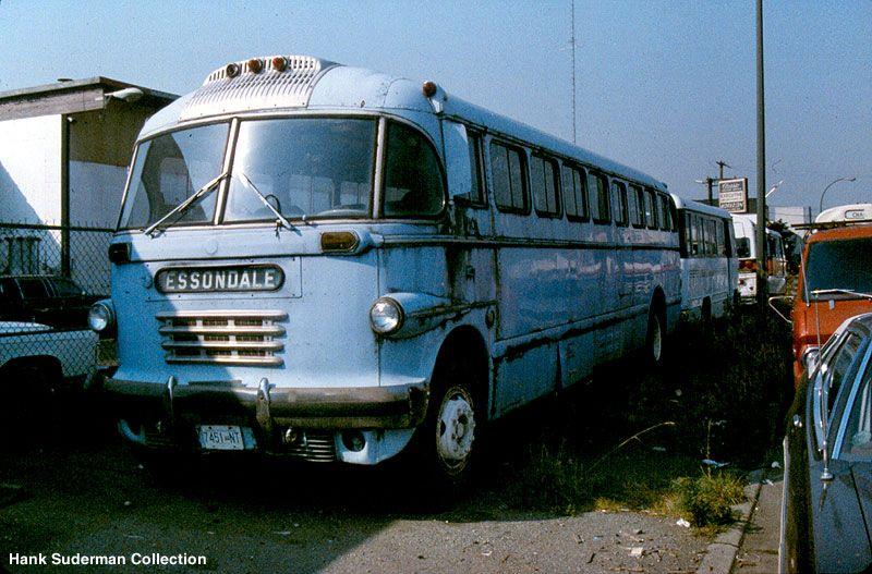 Canadian Car Brill highway coach