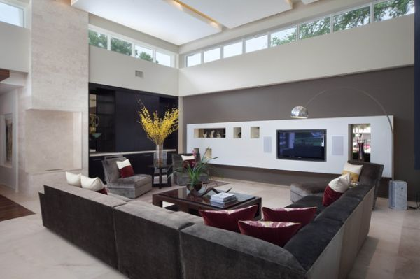 Big Living Rooms 125 living room design ideas: focusing on styles and interior