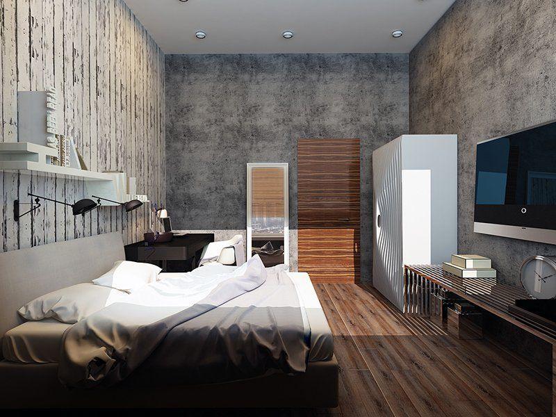 22 Mind Blowing Loft Style Bedroom Designs บ าน ห องนอน ห อง